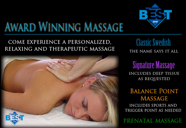 massage san diego - best massage san diego - trigger point massage san diego - sports massage san diego - deep tissue massage san diego
